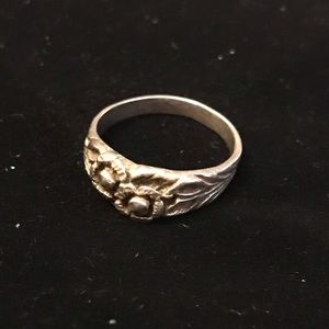 Handmade Sterling Silver Ring, size 6